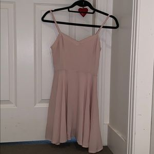 TALULA (aritzia) baby pink dress